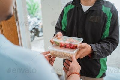food shopping delivered to customer