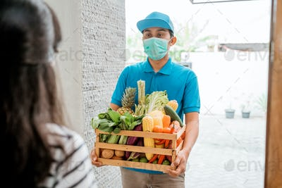 Food delivery during corona virus pandemic