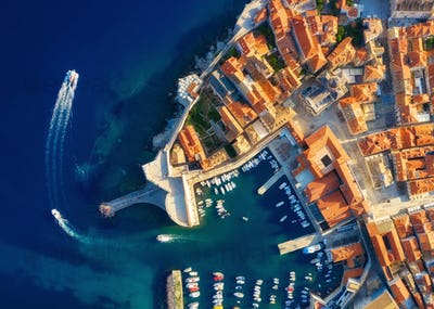 Dubrovnik, Croatia. View from the air