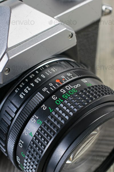 Analog Camera Lens Settings