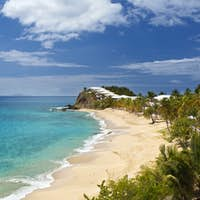 Curtain Bluff Beach, Caribbean