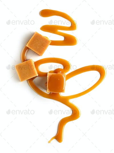 composition of caramel candies
