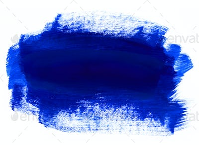 Blue hand drawn texture on white background