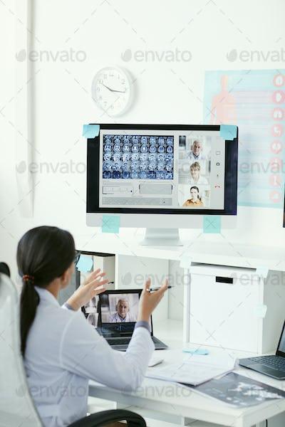 Doctors have online conference