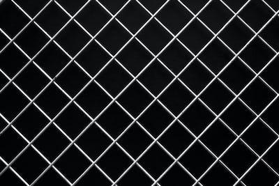 Wire mech on black background