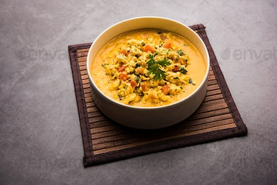 Indian style cottage cheese curry known as Paneer Bhurji Gravy