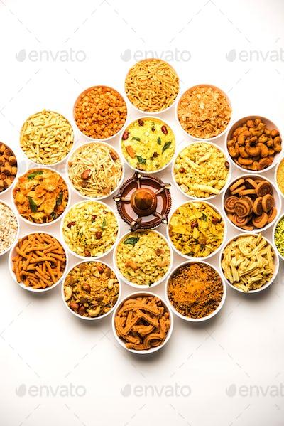 Sweet Food Diwali Rangoli