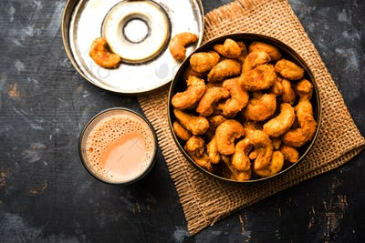 Cashew Nut Fritters