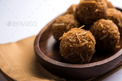 Jaggery coconut Laddoo