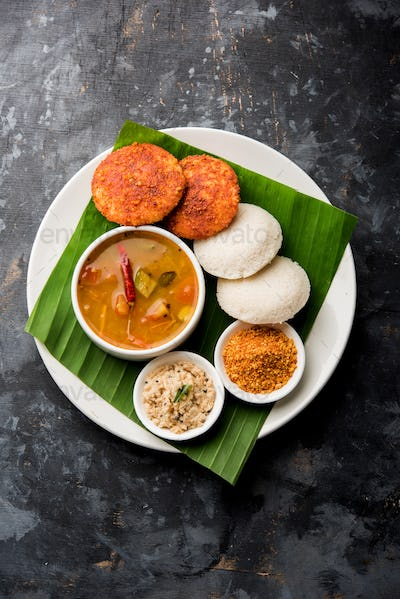 Podi idli - quick and easy snack from South India