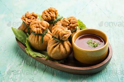 Crispy Potli Samosa, veg money bags are delicious Indian snacks