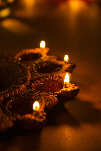 Beautiful Diwali Diya