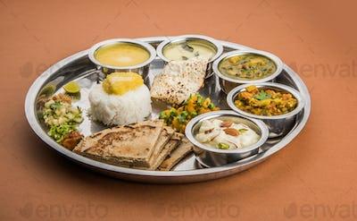 Maharashtrian Food Platter