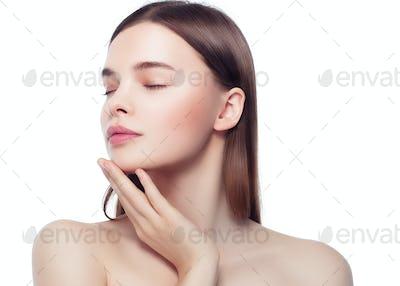 Woman Beauty Skin Face Beautiful Young Model