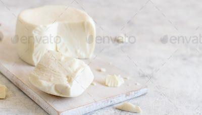 South Italian cheese cacioricotta