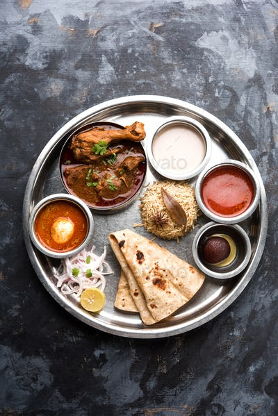 Indian Chicken Platter