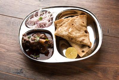 Indian Mutton Platter