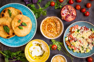 Middle eastern cuisine
