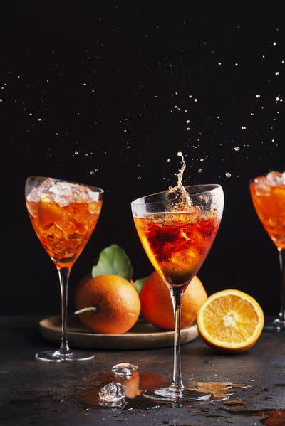 Italian aperol cocktail