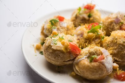 Dahi Puri Chat