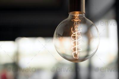 Beautiful light bulb