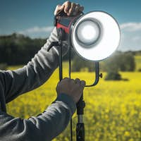 Outdoor Continuous Powerful LED Light For Motion Picture Film and Video
