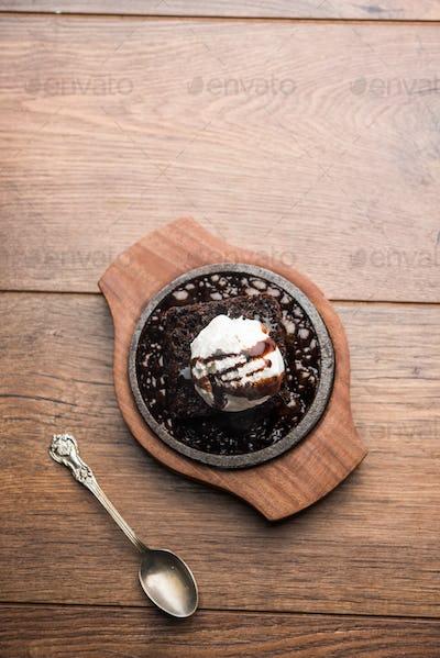 Sizzling Chocolate Brownie