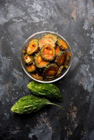Karela Achar / Bitter Gourd Pickle
