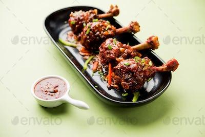 Schezuan Tangri Chicken