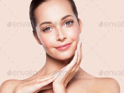 Beauty woman portrait healthyskin natural make up