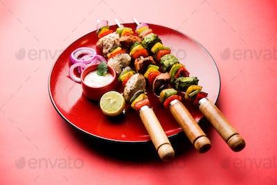 Chicken Hariyali Kakab