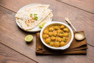 Masala Soya Chunk Curry