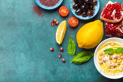 Middle eastern cooking ingredients