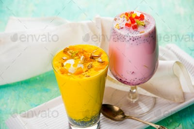 Strawberry / Mango Falooda