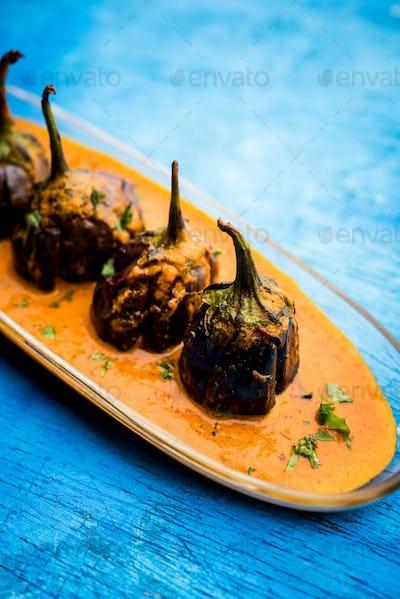 Eggplant Curry / Baingan Masala