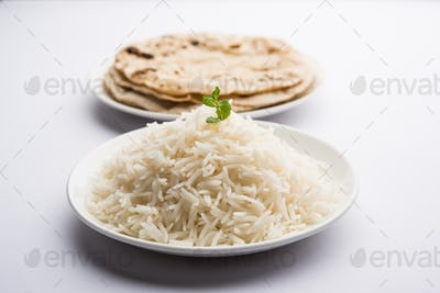 Chapati and Rice