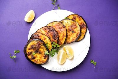 Crispy Brinjal / Baingan Fry