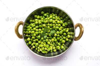 Spicy Green Peas Fry