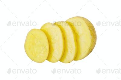 Potatoes yellow sliced 1