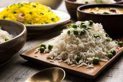 Group Of Rice and Pulao