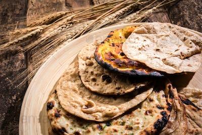 Indian Bread Basket