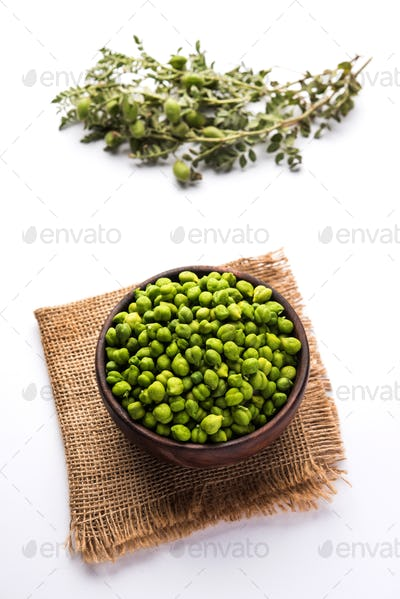 Fresh Green Chickpeas