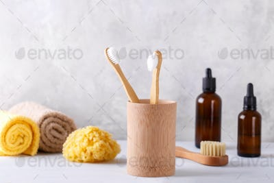 Zero waste bathroom items