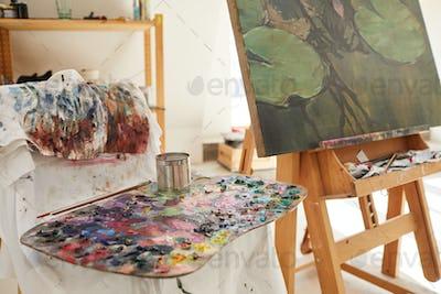 Art Studio Background