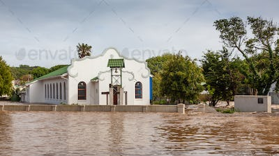 A Flooded Church in South Africa