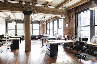 Creative office interior.