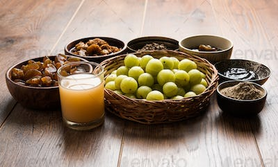 Amla or Indian Gooseberry Products