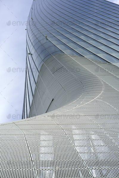 Hadid tower at Citylife, Milan