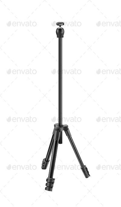 photo tripod isolated on white