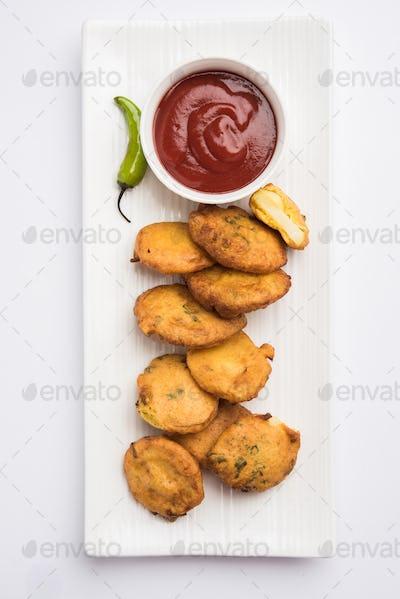 Potato Fritter or Aloo Pakora